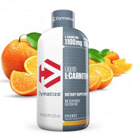 L-Carnitine Liquid Dymatize Orange