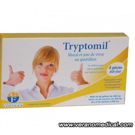 Tryptomil - 60 Gelules - laboratoires Fenioux