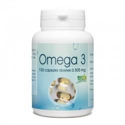 Omega 3 100 capsules dosées à 500mg