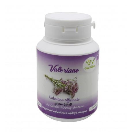 Valeriane 40 gélules dosée à 300mg