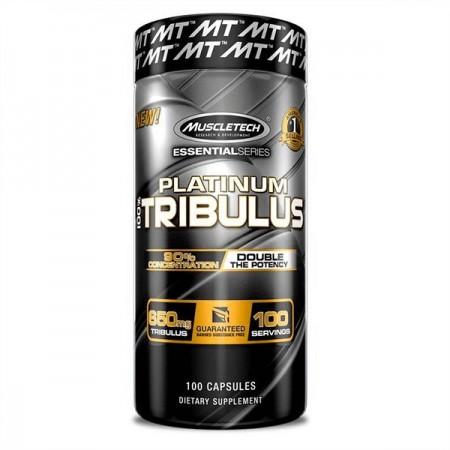 Platinum Tribulus de Muscletech 650mg de 100 capsules