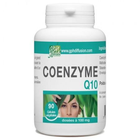 Coenzyme Q10 90 gelules de 100mg