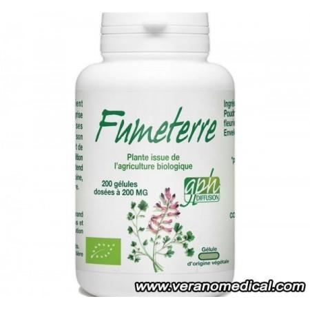 Fumeterre Bio- 200 mg - 200 gelules
