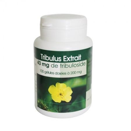 Tribulus extrait 100 gelules dosées à 200mg