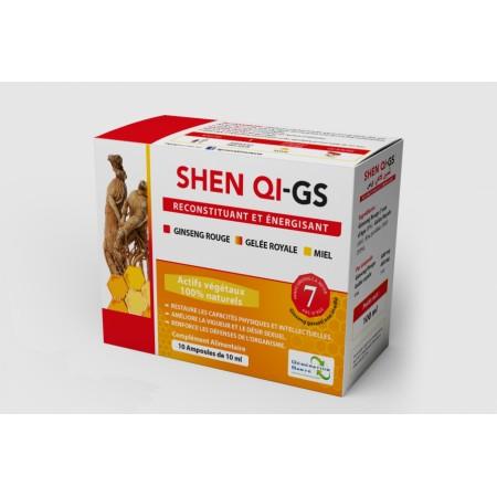 Shen QI-gs stimulant le désire sexuel ( Ginseng rouge, gelée royale et miel)