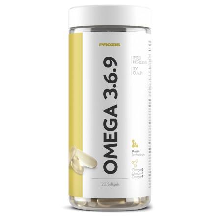 oméga 3-6-9 90 gélules prozis 120 gélules