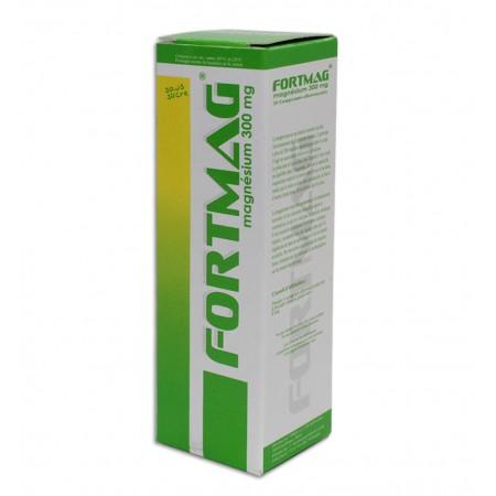fortmag ( magnésium 300mg ) 20 comprimés effervescents