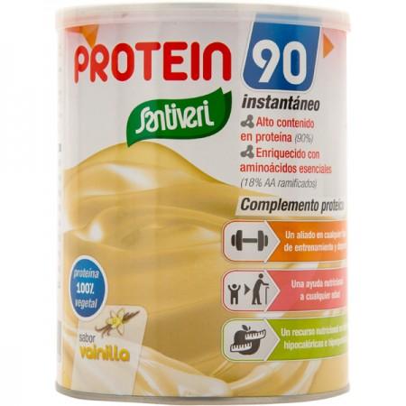 La protéine de soja pour femme au goût de vanille de santivira 200g