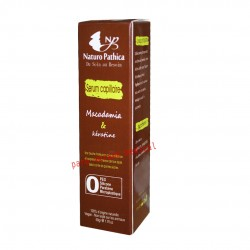Sérum capillaire en macadamia et ,Kératine 50ml