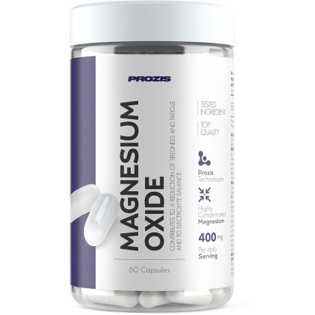 Oxyde de Magnésium 400 mg 60 gélules