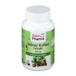 Extrait de café vert 450 mg (90 gélules)