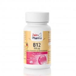 Vitamine B12 -500 μg 60 comprimés à sucer