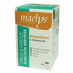 Magnésium & Vitamine B6 30 gélules