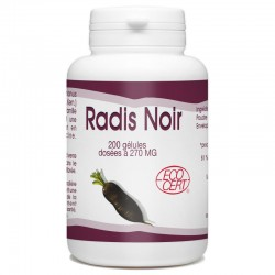 Radis Noir Bio - 270 mg- 100 gélules