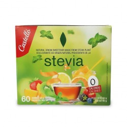 Stevia sachets sans gluten ( 60 sachets x 1 gr )