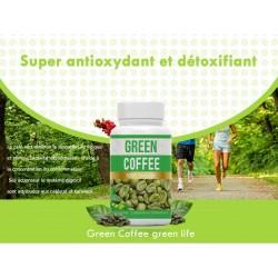 Café vert (Minceur brûleur de Graisse) 60 gélules