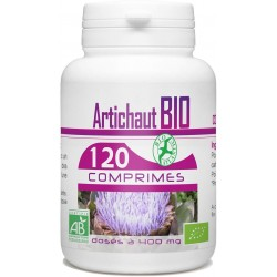 Artichaut bio 400 mg 120 comprimés