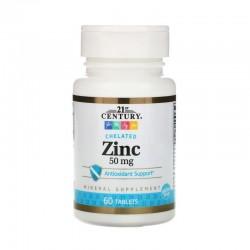 Zinc, 50 mg- 60 comprimés