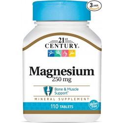 Magnésium, 250 mg, 110 Comprimés