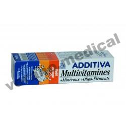 Multivitamines goût orange 20 COMP