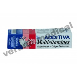 Multivitamines goût Péche 20 COMP