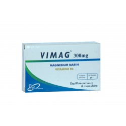 VIMAG Magnésium marin 300 mg + Vitamine B6 30 gélules