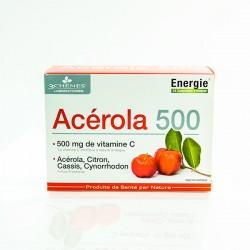 ACEROLA 500 Vitamine C (24 comprimés à croquer)