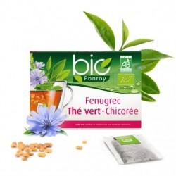 Fenugrec Thé Vert Chicorée Bio - 20 sachets