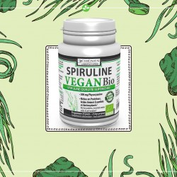 Spiruline Vegan Bio 100 comprimés