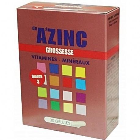 Azinc Grossesse, 30 gélules