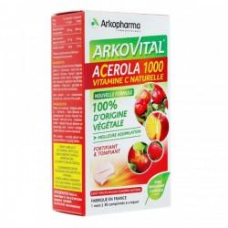 Vitamine C 100% végétal Arkovital Acerola 1000