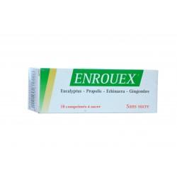 Enrouex la gorge et des voies respiratoires 10 comp