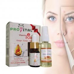 Vitamine E Pure 10ml + Spray Huile d'Amande Douces Offert
