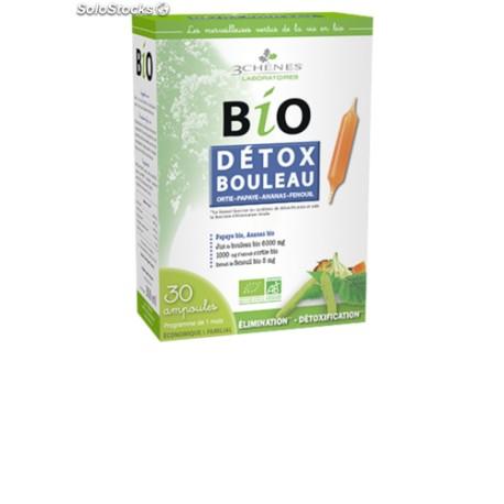 Détox Bouleau 30 Ampoules de 10 ml