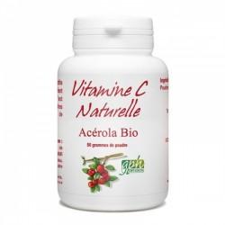 Vitamine C Acérola Bio Poudre - 50 gr