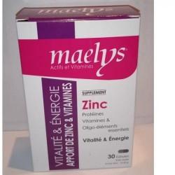 MAELYS ZINC & VITAMINES B VITALITÉ 30 gelules