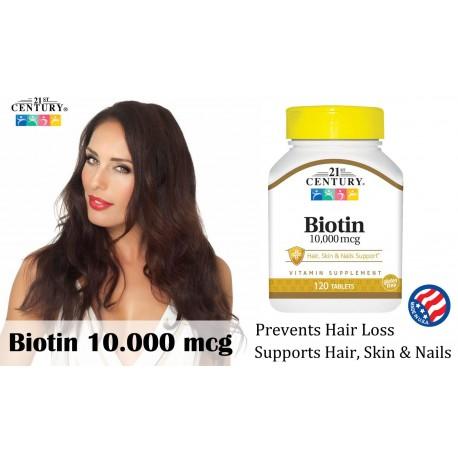 Biotine - 10mg - 120 comprimés
