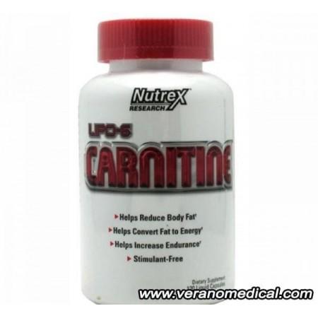 lipo 6 carnitine 120 caps nutrex