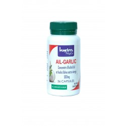Ail + huile d'olive extra vierge 36 capsules