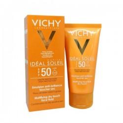 Vichy Ideal Soleil Adultes anti-brillance toucher sec IP50+