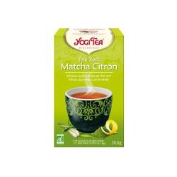 Thé Vert Matcha Citron Bio 17 Sachets