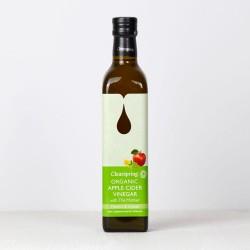 Vinaigre de Cidre de Pomme biologique avec la Mère – Matcha et Citron 500ml