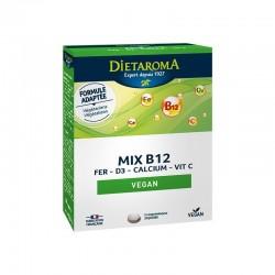 Vitamines Et Minéraux Mix B12 Végan 60 Comp