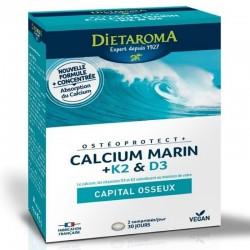 Calcium Marin + K2 & D3 - 60 capsules