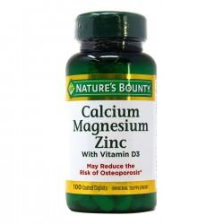 Calcium-Magnésium-Zinc avec vitamine D3 100 comprimés