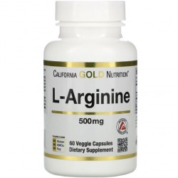 L-Arginine 500mg 60caps