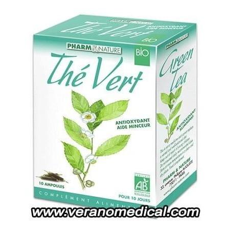 Pharm & Nature Thé Vert (10 ampoules de 10ml )