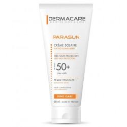 Parasun Crème Solaire Très Haute Protection - Teinte Clair - 50 ml - SPF 50+