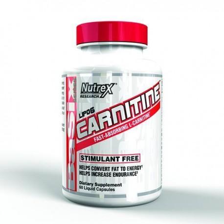 Lipo-6 Carnitine - 60 Liquid caps | Nutrex