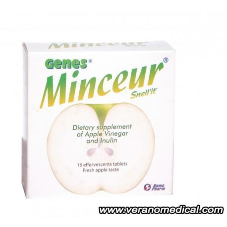Genes Minceur Snell'it 16 comp effervescents